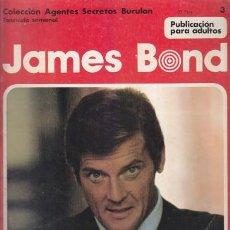 Cómics: JAMES BOND 3 – COLECCION AGENTES SECRETOS BURULAN FASCICULO SEMANAL BURU LAN. Lote 36046508