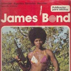 Cómics: JAMES BOND 2 – COLECCION AGENTES SECRETOS BURULAN FASCICULO SEMANAL BURU LAN. Lote 36046514