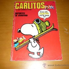 Cómics: CARLITOS Nº 8 DE LA EDITORIAL BURU LAN, 1971 . Lote 36104542