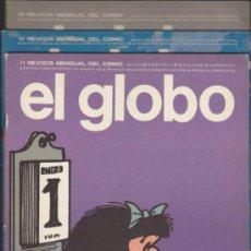 Cómics: EL GLOBO. LOTE DE 2 EJEMPLARES: 17 Y 18.. Lote 36105670