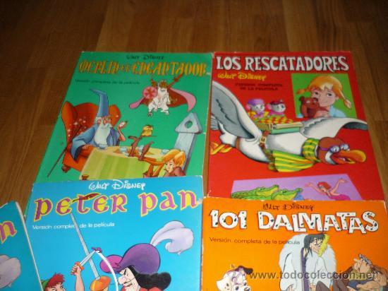 Cómics: 8 GIGANTES DISNEY PETER PAN EL LIBRO DE LA SELVA LOS ARISTOGATOS BAMBY 101 DALMATAS BURU LAN AÑOS 70 - Foto 2 - 36132177