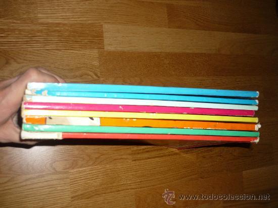 Cómics: 8 GIGANTES DISNEY PETER PAN EL LIBRO DE LA SELVA LOS ARISTOGATOS BAMBY 101 DALMATAS BURU LAN AÑOS 70 - Foto 4 - 36132177