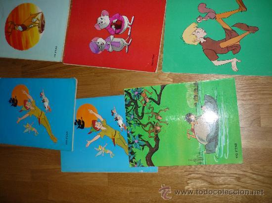 Cómics: 8 GIGANTES DISNEY PETER PAN EL LIBRO DE LA SELVA LOS ARISTOGATOS BAMBY 101 DALMATAS BURU LAN AÑOS 70 - Foto 6 - 36132177