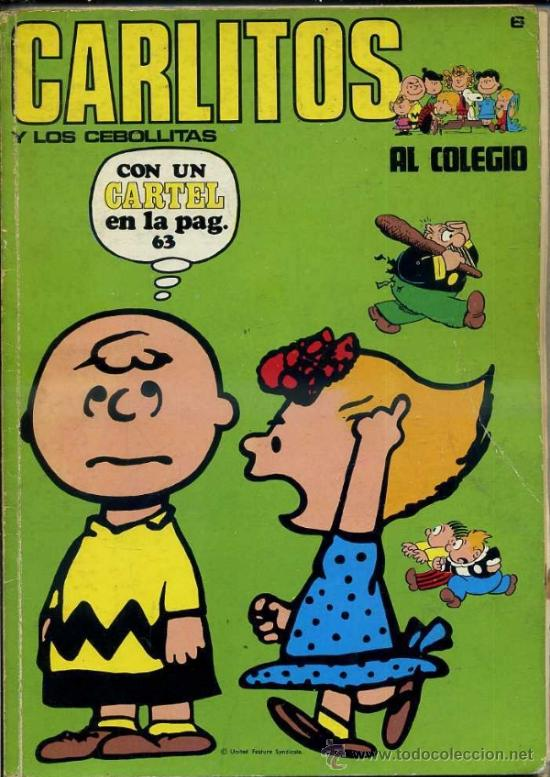 CARLITOS AL COLEGIO (Tebeos y Comics - Buru-Lan - Otros)