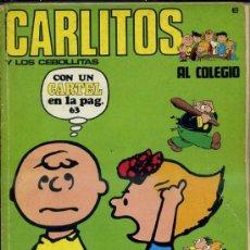 Cómics: CARLITOS AL COLEGIO. Lote 36145777