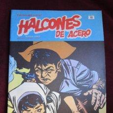 Cómics: HALCONES DE ACERO Nº 18 HEROES DEL COMIC. BURU LAN BURULAN 1973. TEBENI NUEVO. Lote 36275484