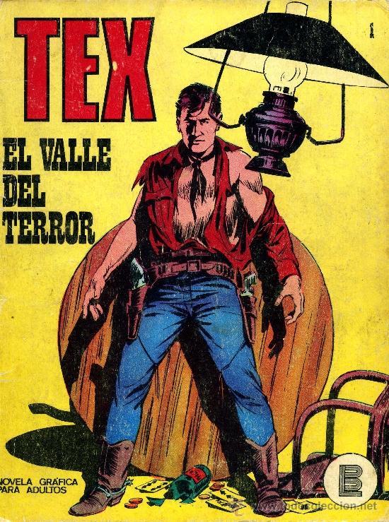 TEX Nº1 (BURULÁN, 1971) (Tebeos y Comics - Buru-Lan - Tex)