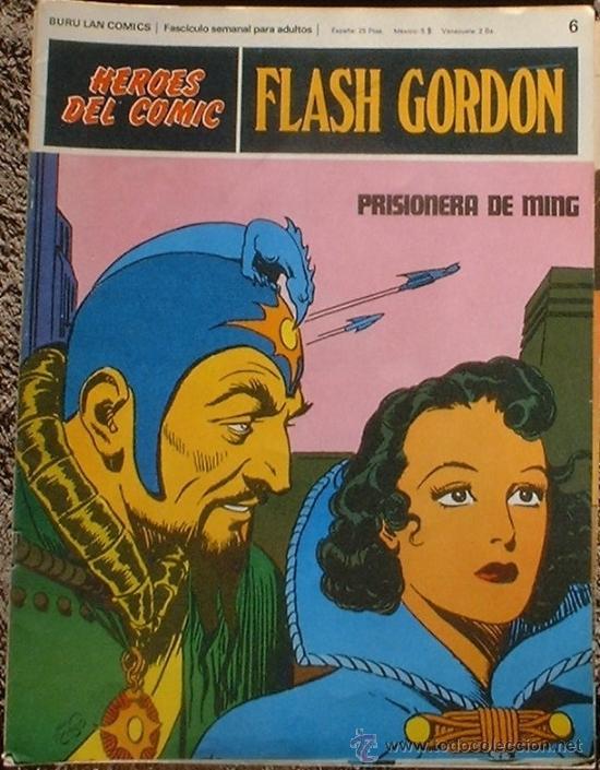 HEROES DEL COMIC - FLASH GORDON Nº 6 - PRISIONERA DE MING - BURU LAN COMICS 1972 (Tebeos y Comics - Buru-Lan - Flash Gordon)