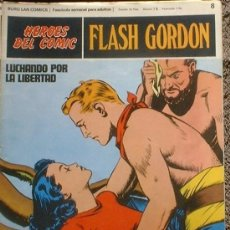 Cómics: HEROES DEL COMIC - FLASH GORDON Nº 8 - LUCHANDO POR LA LIBERTAD - BURU LAN COMICS 1972. Lote 36774318