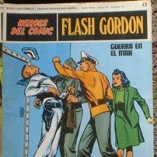 Cómics: HEROES DEL COMIC - FLASH GORDON Nº 13 - GUERRA EN EL MAR - BURU LAN COMICS 1972. Lote 36774380