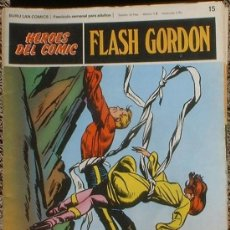 Cómics: HEROES DEL COMIC - FLASH GORDON Nº 15 - FUGA AUDAZ - BURU LAN COMICS 1972. Lote 36775042