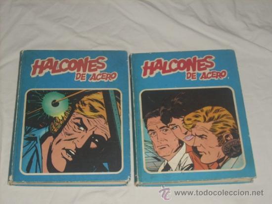 HALCONES DE ACERO, 2 TOMOS, COMPLETA. (Tebeos y Comics - Buru-Lan - Halcones de Acero)
