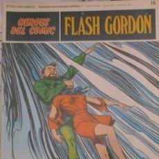 Cómics: HEROES DEL COMIC - FLASH GORDON Nº 16 - TRAGADOS POR EL ABISMO - BURU LAN COMICS 1972. Lote 36776803