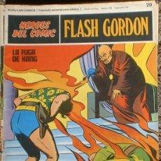 Cómics: HEROES DEL COMIC - FLASH GORDON Nº 29 - LA FUGA DE KANG - BURU LAN COMICS 1972. Lote 36776901
