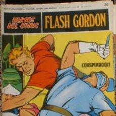 Cómics: HEROES DEL COMIC - FLASH GORDON Nº 30 - CONSPIRACIÓN - BURU LAN COMICS 1972. Lote 36776932