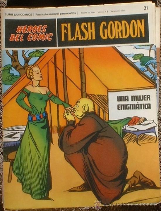 HEROES DEL COMIC - FLASH GORDON Nº 31 - UNA MUJER ENIGMÁTICA - BURU LAN COMICS 1972 (Tebeos y Comics - Buru-Lan - Flash Gordon)