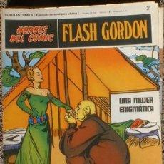 Cómics: HEROES DEL COMIC - FLASH GORDON Nº 31 - UNA MUJER ENIGMÁTICA - BURU LAN COMICS 1972. Lote 36776940