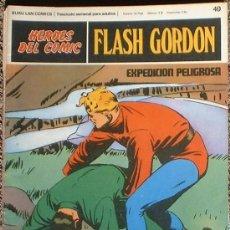 Cómics: HEROES DEL COMIC - FLASH GORDON Nº 40 - EXPEDICIÓN PELIGROSA - BURU LAN COMICS 1972. Lote 36777174