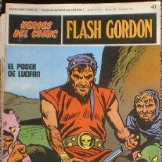 Cómics: HEROES DEL COMIC - FLASH GORDON Nº 47 - EL PODER DE LUCIFAN - BURU LAN COMICS 1972. Lote 36777188