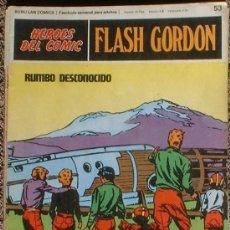 Cómics: HEROES DEL COMIC - FLASH GORDON Nº 53 - RUMBO DESCONOCIDO - BURU LAN COMICS 1972. Lote 36777197