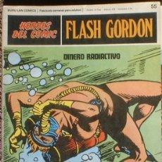 Cómics: HEROES DEL COMIC - FLASH GORDON Nº 55 - DINERO RADIACTIVO - BURU LAN COMICS 1972. Lote 36777217