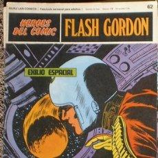 Cómics: HEROES DEL COMIC - FLASH GORDON Nº 62 - EXILIO ESPACIAL - BURU LAN COMICS 1972. Lote 36777268