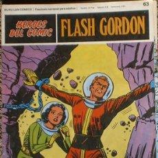 Cómics: HEROES DEL COMIC - FLASH GORDON Nº 63 - PELIGRO EN LA LUNA - BURU LAN COMICS 1972. Lote 36777274