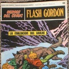 Cómics: HEROES DEL COMIC - FLASH GORDON Nº 68 - LA MALDICIÓN DE WULKE - BURU LAN COMICS 1972. Lote 36777301