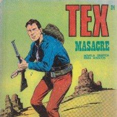 Cómics: TEX - Nº 24. Lote 36899313