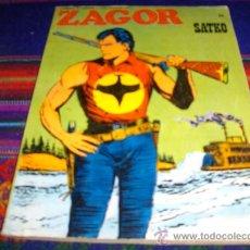 Cómics: ZAGOR Nº 55. SATKO. BURU LAN 1973. 25 PTS. MUY DIFÍCIL!!!!!!!!!!!!!!!. Lote 37085902
