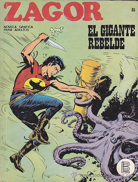 COMIC ZAGOR Nº 35 (Tebeos y Comics - Buru-Lan - Zagor)