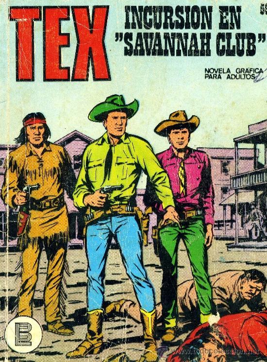 TEX Nº56 (EDITORIAL BURULÁN, 1971) (Tebeos y Comics - Buru-Lan - Tex)