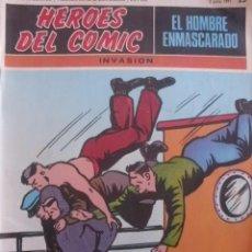 Comics: EL HOMBRE ENMASCARADO Nº 23 HEROES DEL COMIC-BURU LAN COMICS. Lote 37381080