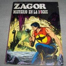 Cómics: ZAGOR Nº 59. BURU LAN 1973. 25 PTS. MISTERIO EN LA NOCHE. Y DIFÍCIL!!!!!!!!!!!. Lote 37563348