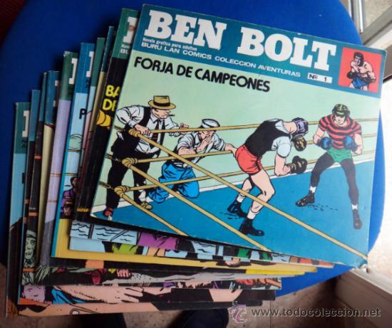 BEN BOLT , COLECCION COMPLETA , 12 EJEMPLARES , ORIGINALES (Tebeos y Comics - Buru-Lan - Otros)