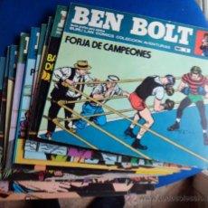 Cómics: BEN BOLT , COLECCION COMPLETA , 12 EJEMPLARES , ORIGINALES. Lote 37604485