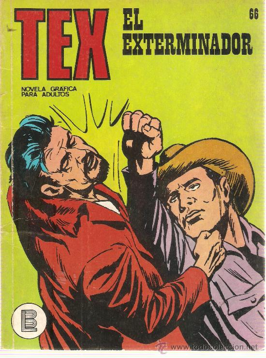 COMIC TEX Nº 66 (Tebeos y Comics - Buru-Lan - Tex)