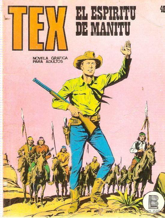COMIC TEX Nº 48 (Tebeos y Comics - Buru-Lan - Tex)