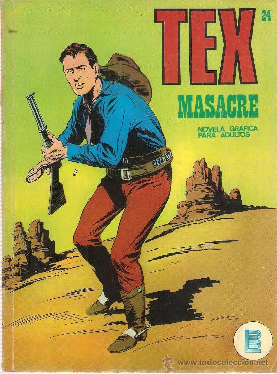 COMIC TEX Nº 24 (Tebeos y Comics - Buru-Lan - Tex)