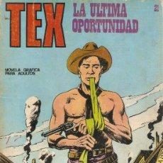 Cómics: COMIC TEX Nº 21. Lote 37668265