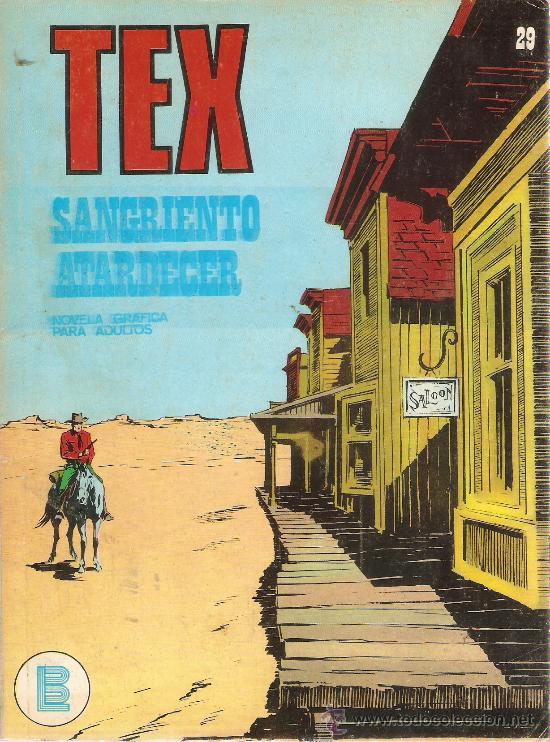 COMIC TEX Nº 29 (Tebeos y Comics - Buru-Lan - Tex)