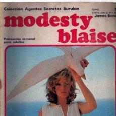 Cómics: MODESTY BLAISE 1 – COLECCION AGENTES SECRETOS BURULAN BURU LAN. Lote 37728488