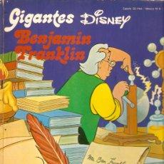 Cómics: GIGANTES DISNEY Nº 2 BENJAMIN FRANKLIN. Lote 37977261