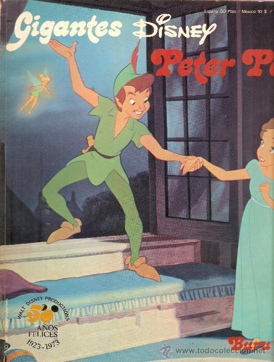 GIGANTES DISNEY Nº 1 PETER PAN (Tebeos y Comics - Buru-Lan - Otros)