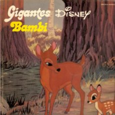 Cómics: GIGANTES DISNEY Nº 12 BAMBI. Lote 37977334