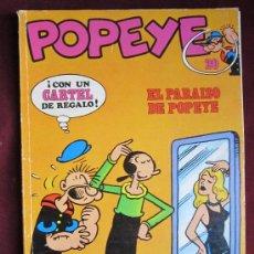Cómics: POPEYE. Nº 20. EL PARAISO DE POPEYE POR ZABOLY. BURU LAN 1972. Lote 38071062