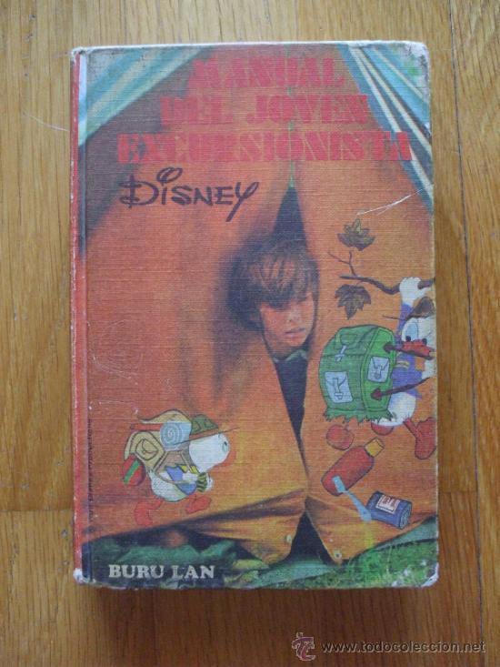 MANUAL DEL JOVEN EXCURSIONISTA, DISNEY BURU LAN 1973 (Tebeos y Comics - Buru-Lan - Otros)