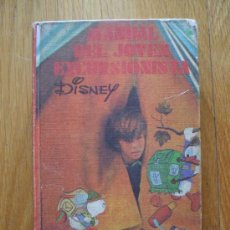 Cómics: MANUAL DEL JOVEN EXCURSIONISTA, DISNEY BURU LAN 1973. Lote 38190719