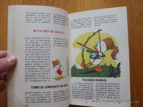 Cómics: MANUAL DEL JOVEN EXCURSIONISTA, Disney BURU LAN 1973 - Foto 3 - 38190719