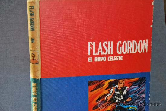 FLASH GORDON TOMO 1 - EL RAYO CELESTE - BURU LAN - AÑO 1972 (Tebeos y Comics - Buru-Lan - Flash Gordon)
